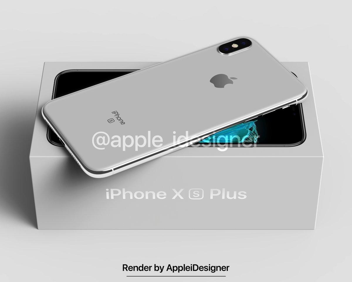 Iphone X Plus Render By Appleidesigner 5
