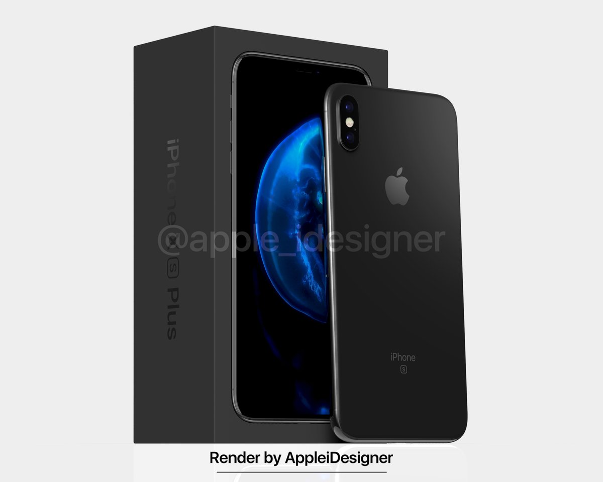 Iphone X Plus Render By Appleidesigner 6
