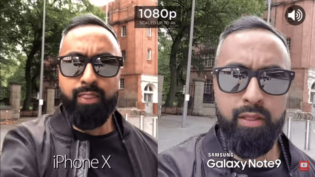 Iphone X Vs Galaxy Note 9 Camera Compare 1