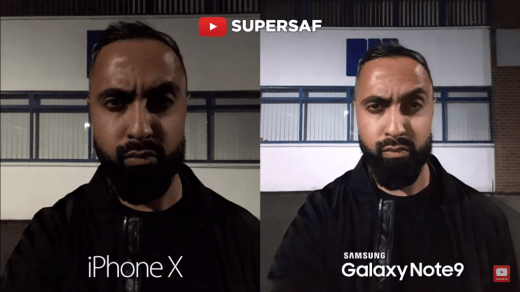 Iphone X Vs Galaxy Note 9 Camera Compare 11
