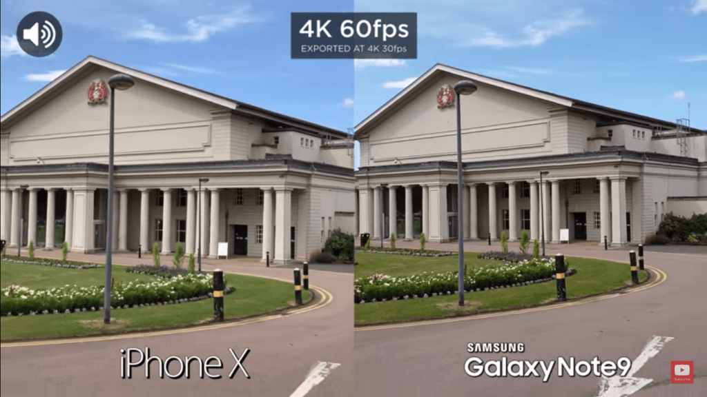 Iphone X Vs Galaxy Note 9 Camera Compare 4