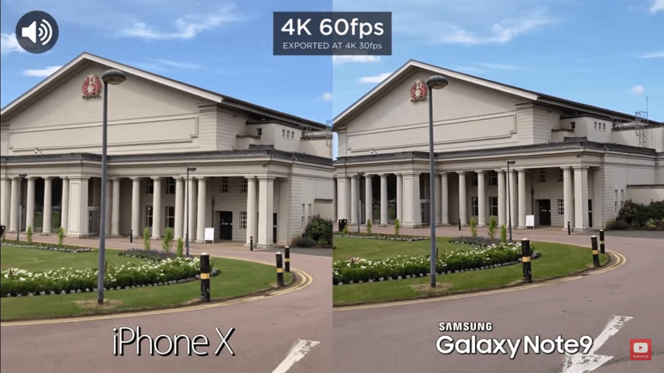 Iphone X Vs Galaxy Note 9 Camera Compare 4