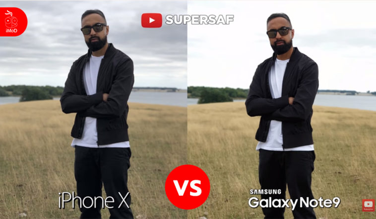 Iphone X Vs Galaxy Note 9 Camera Compare