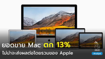 Mac Sales Drop Q3 2018 Analyst