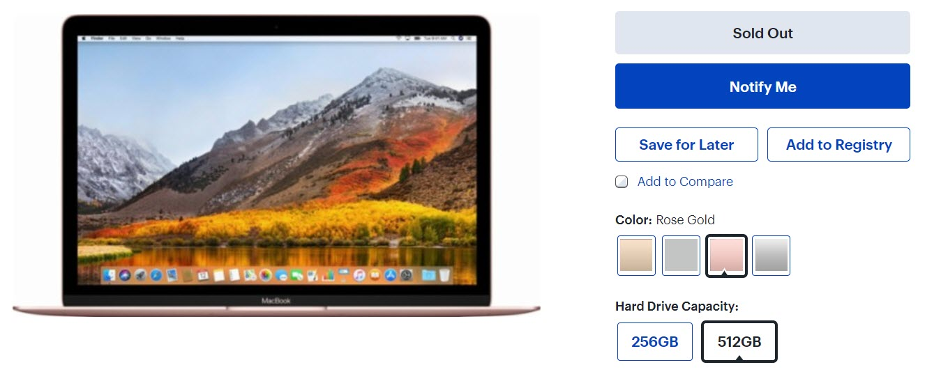 Macbook 12 Inch Sold Out Best Buy Maybe Wait Fall Refresh 1