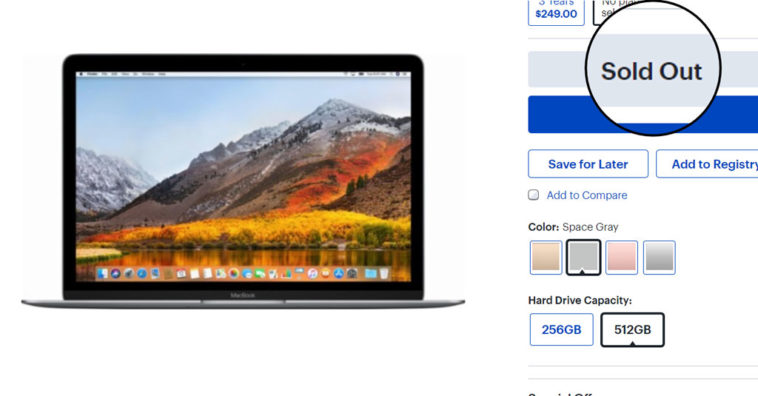 Macbook 12 Inch Sold Out Best Buy Maybe Wait Fall Refresh