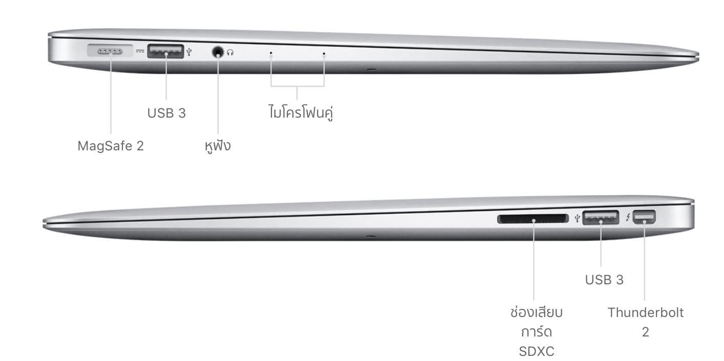Macbook Air Aug 2018 Port