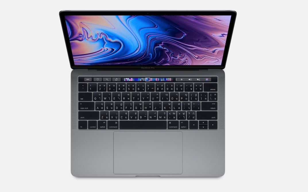 Macbook Pro Touch Bar 2018