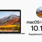 Macos High Sierra 10 13 6 Supplemental Update 2