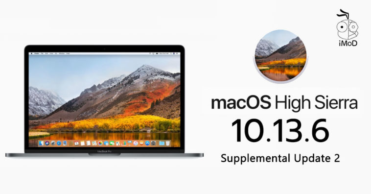 Macos High Sierra 10 13 6 Supplemental Update 2