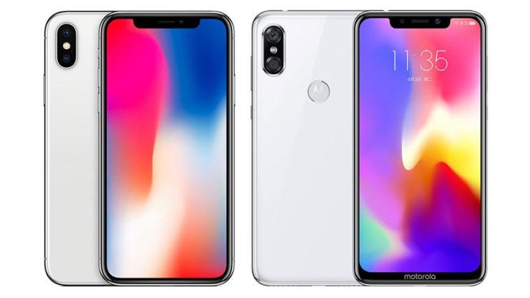Motorola P30 Inspired By Iphone X