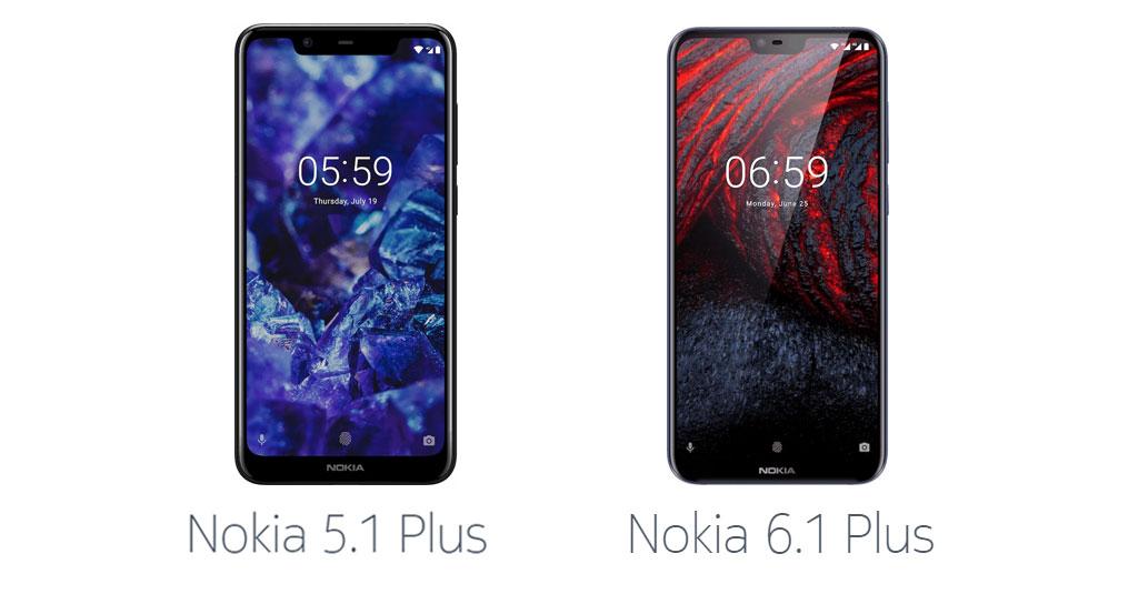 Nokia Release Nokia 5 1 Plus And Nokia 6 1 Plus With Notch