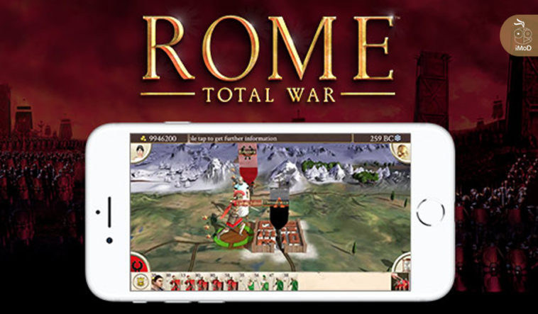 Rome Total War Available For Iphone