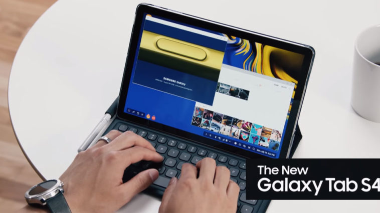 Samsung Launches Galaxy Tab S4 Cover