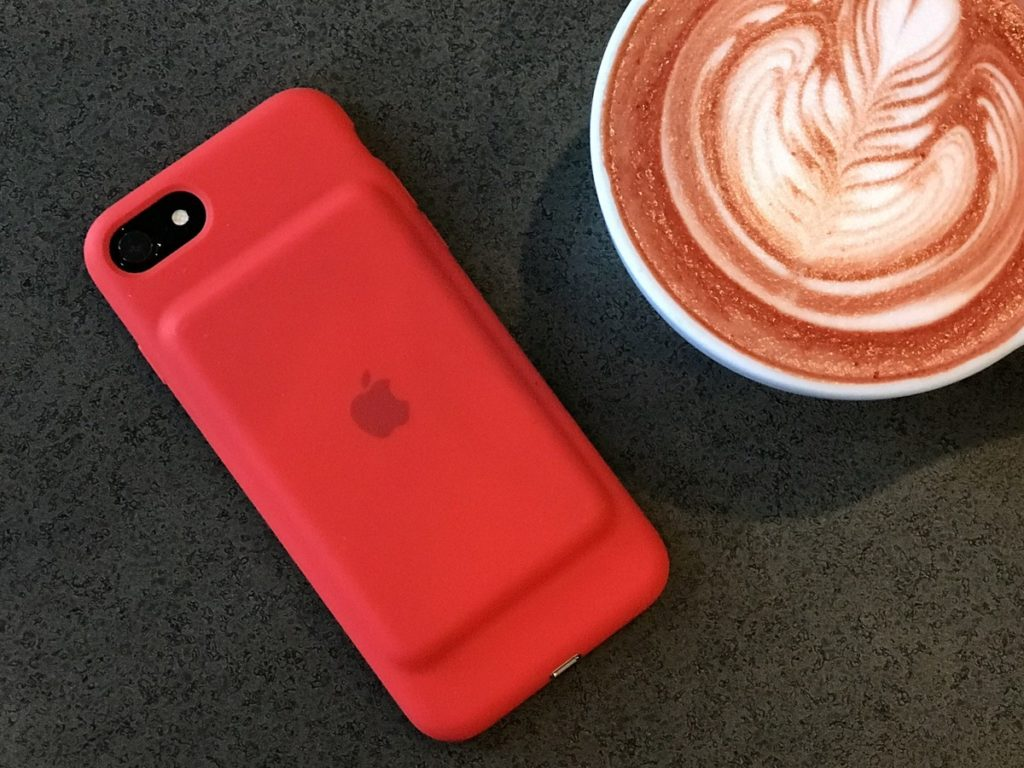 Smart Battery Case Red 03