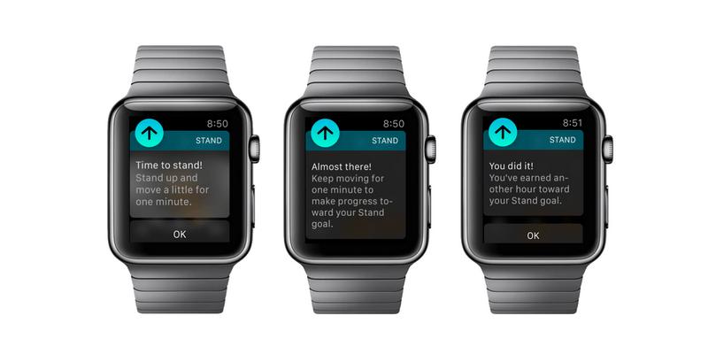 Stand Up Reminder Apple Watch