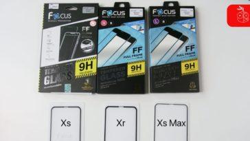ฟิล์มกระจก Iphone Xs Focus Cover