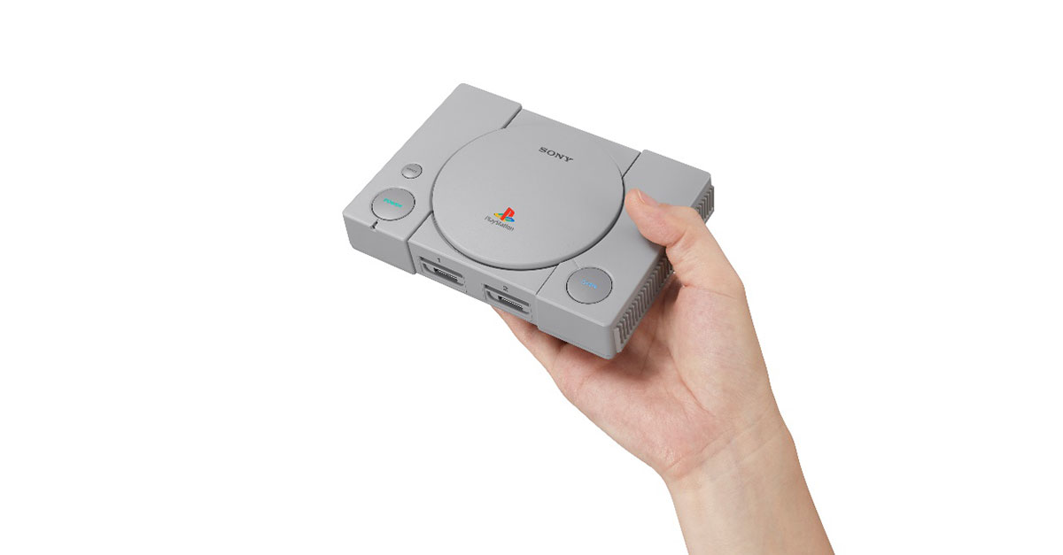 Playstation Classic Packaging 2