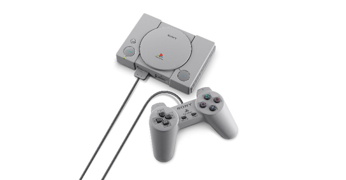Playstation Classic Packaging 3