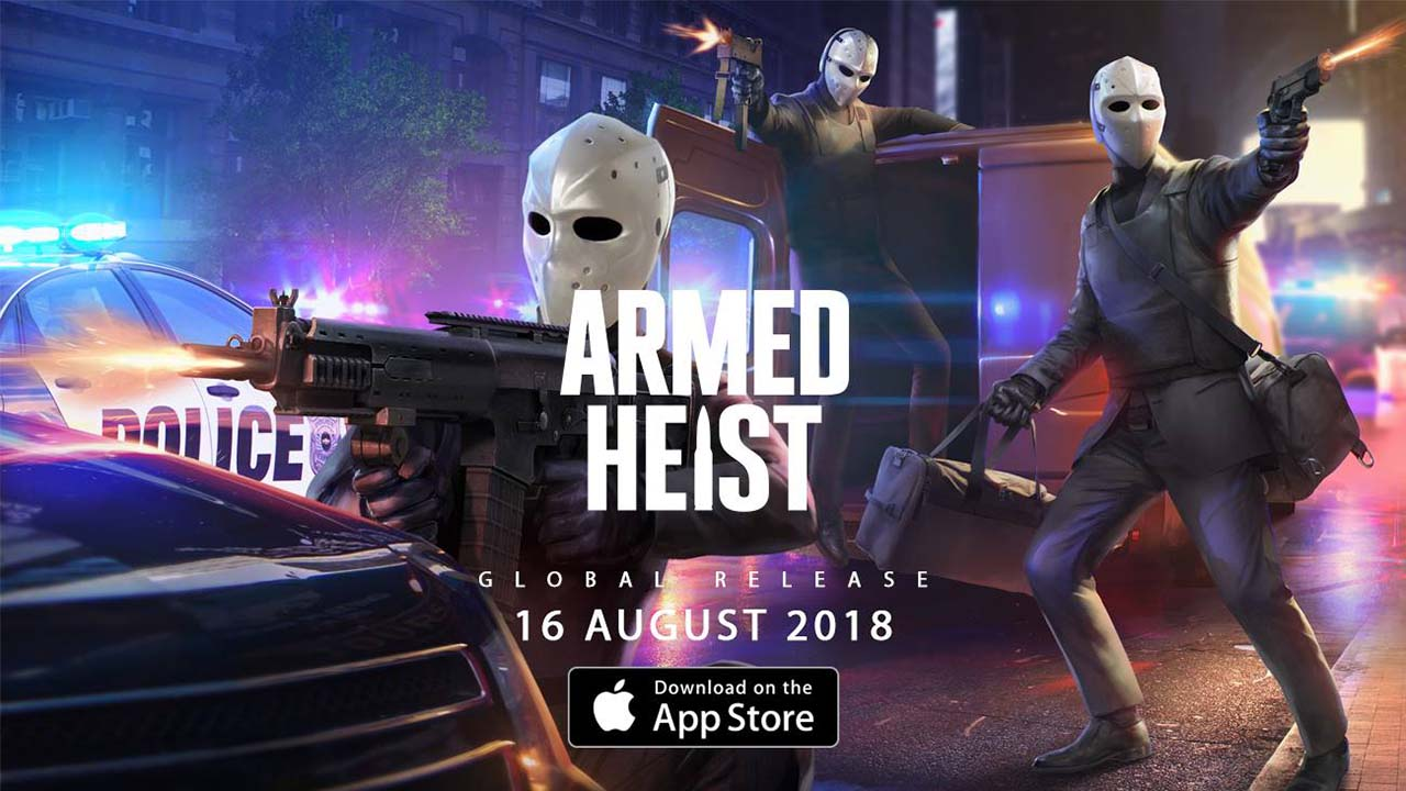 Game Armed Heist Cover