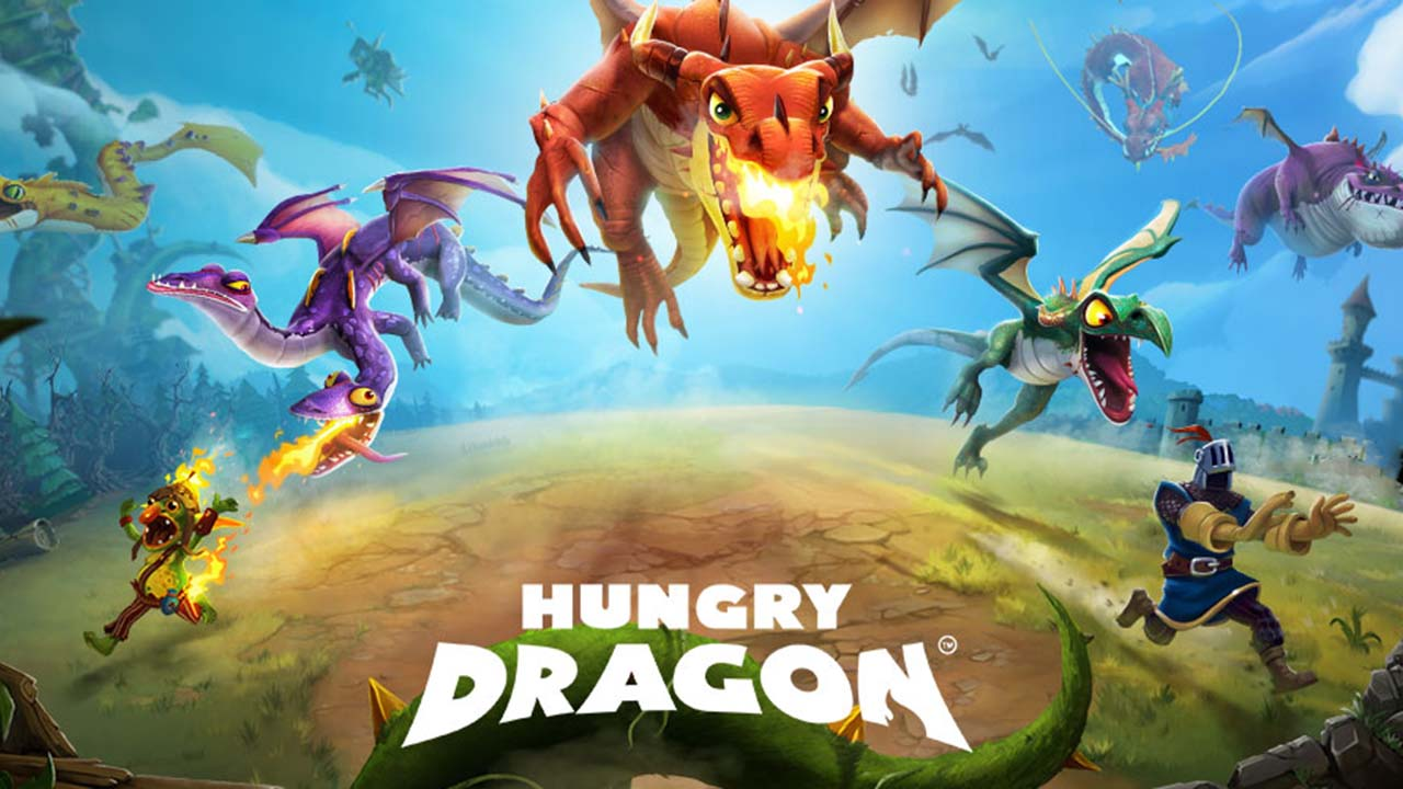 Game Hungry Dragon Cover