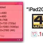 Ios 12 1 Beta Ipad Pro 2018 Support 4k By Usb C