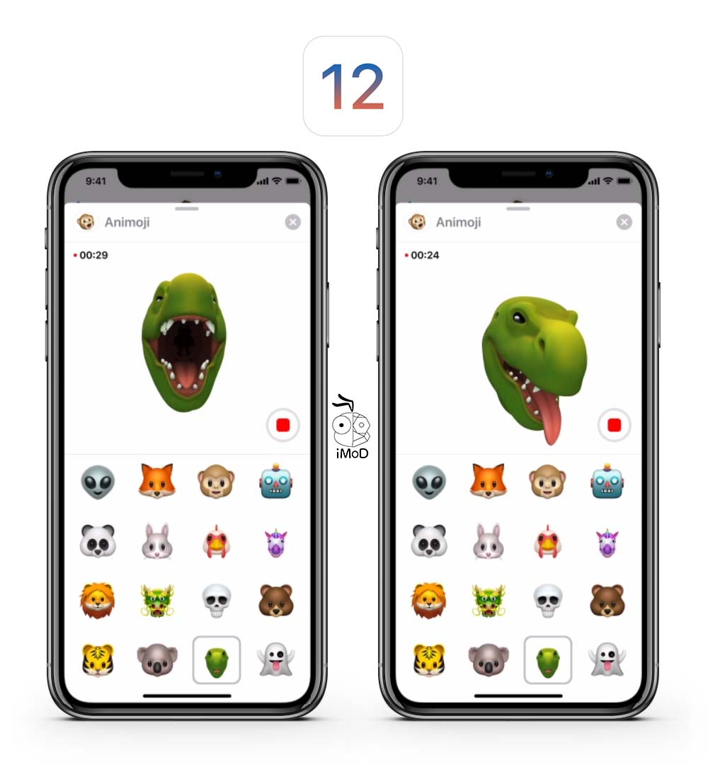 Ios12 Animoji 1