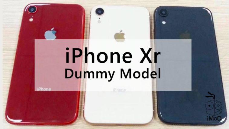 Iphone Xr Lcd 6 1 Inch 2018 Dummy Model Photo