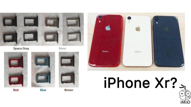 Iphone Xr Sim Trays Leaks Photo 5 Colors