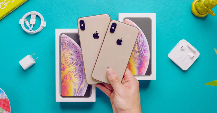 Iphone Xs Iphone Xs Max Gold