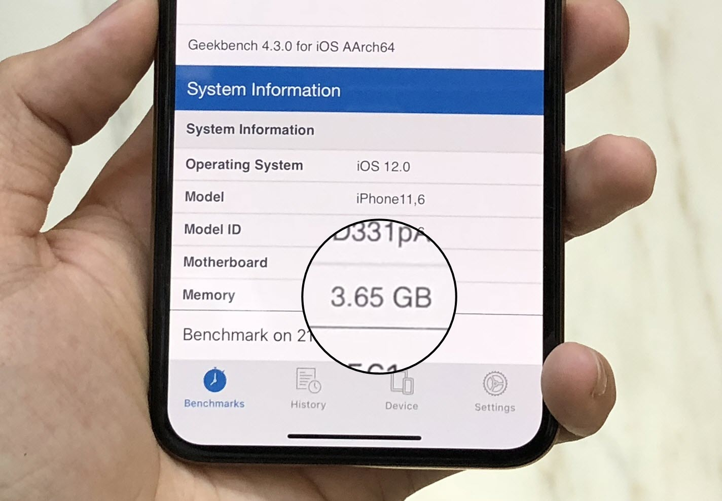 Iphone Xs Iphone Xs Max Ram 4gb Geekbench Report 2