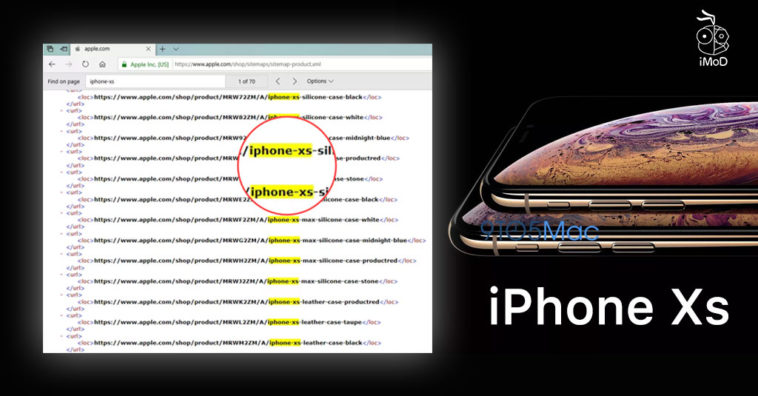 Iphone Xs Name Confirm At Apple Website Product Sitemap