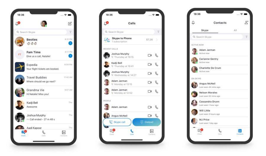 Skype Redesign 2018 1