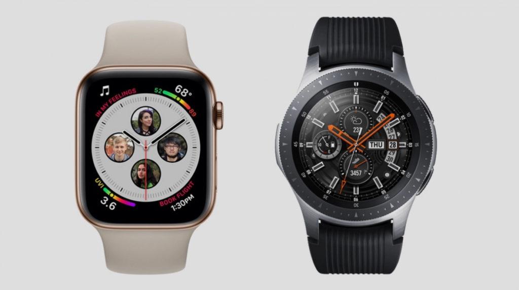 Spec Compare Apple Watch Series 4 Vs Galaxy Watch 1