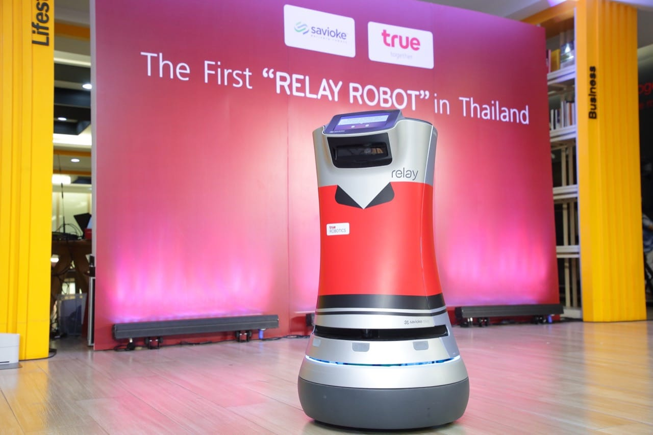 True Relay Robot