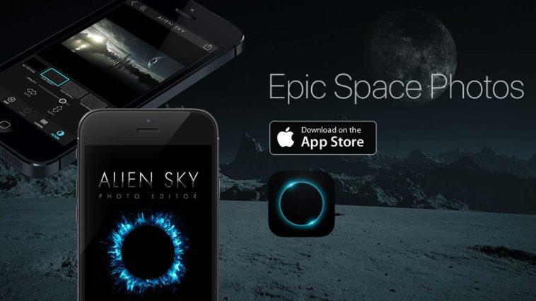App Alien Sky Cover