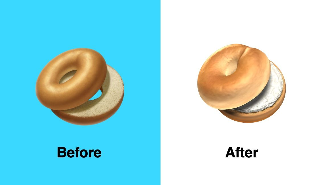 Apple Fixed Bagle Emoji Ios 12 1 Img 1