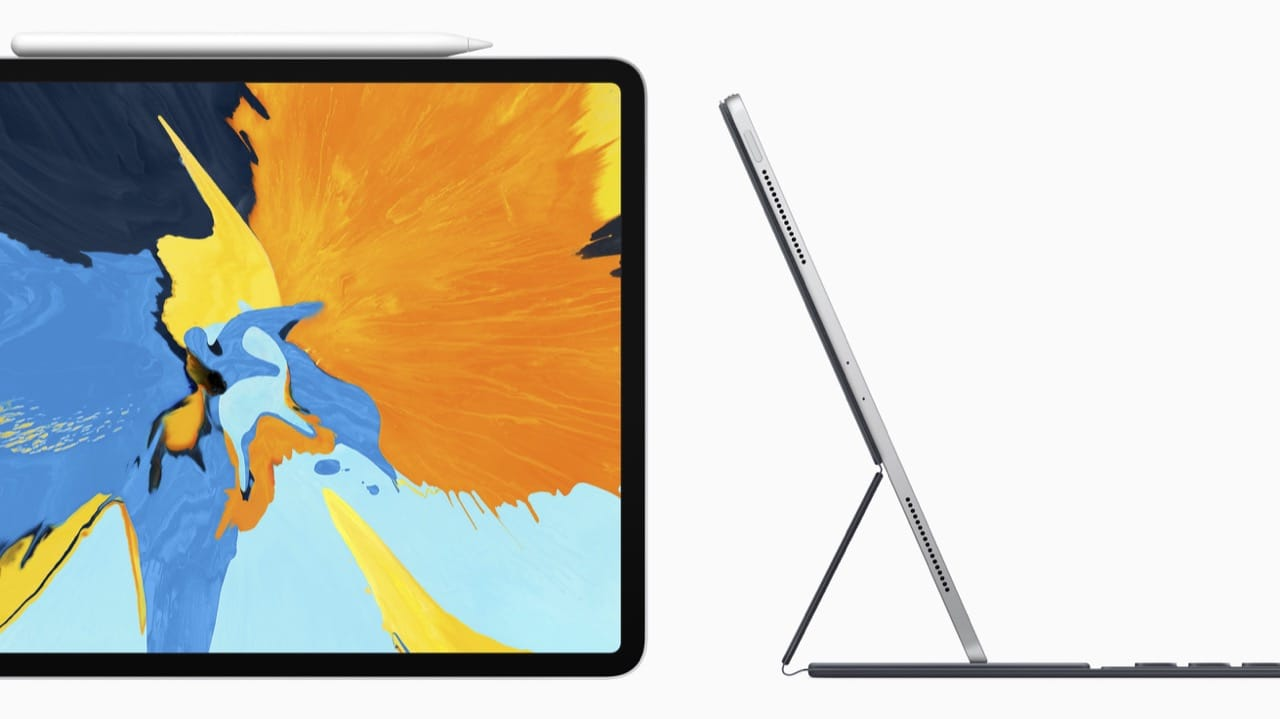 Apple Pencil And New Smart Keyboard Ipad Pro 2018