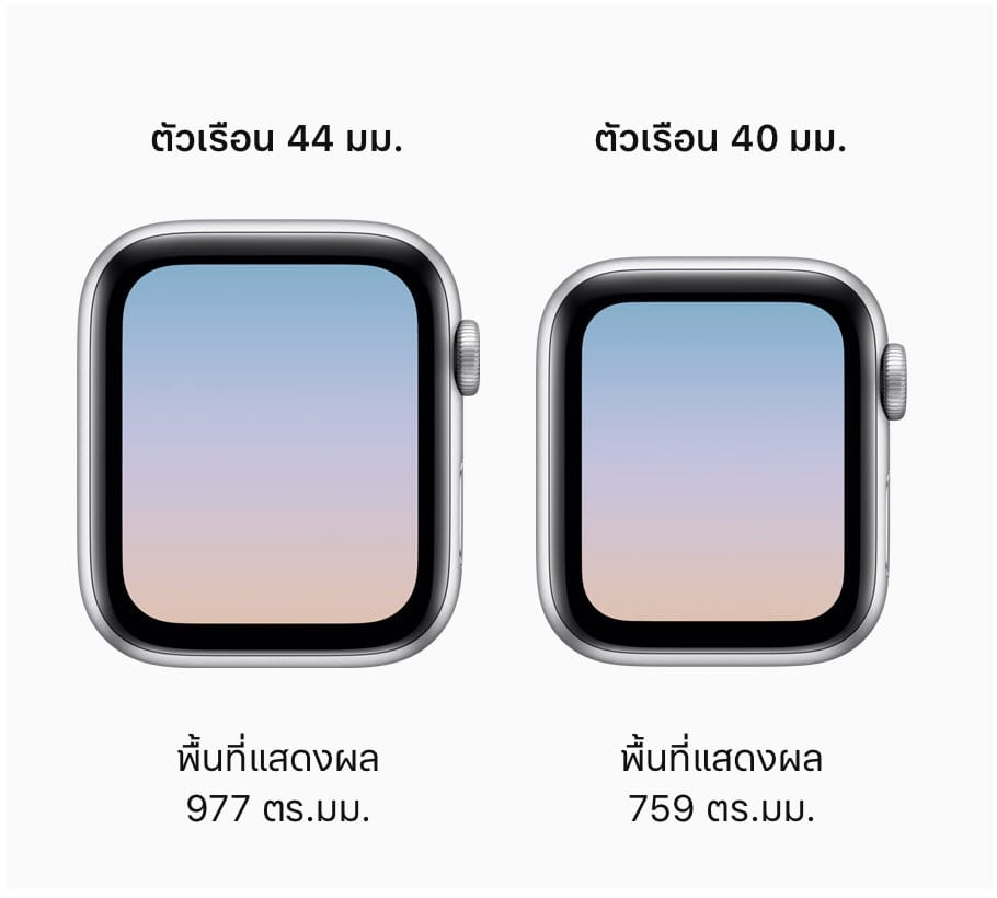 Apple Watch Series 4 Size