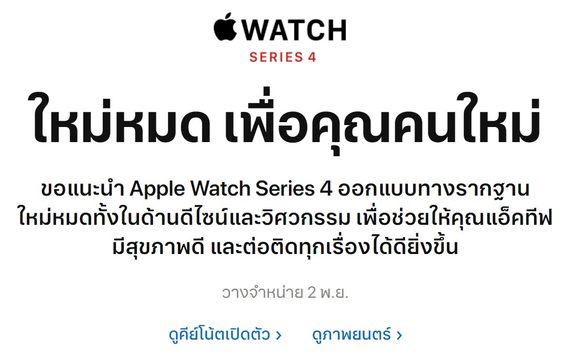 Apple Watch Series 4 Th Release Date Confirm Img 1