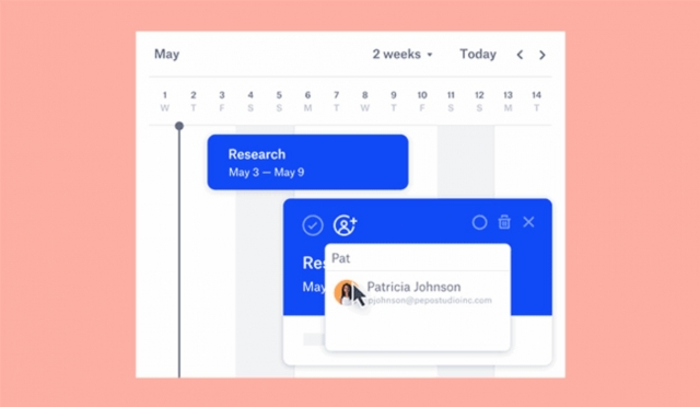 Dropbox Paper New Feature Timeline 1