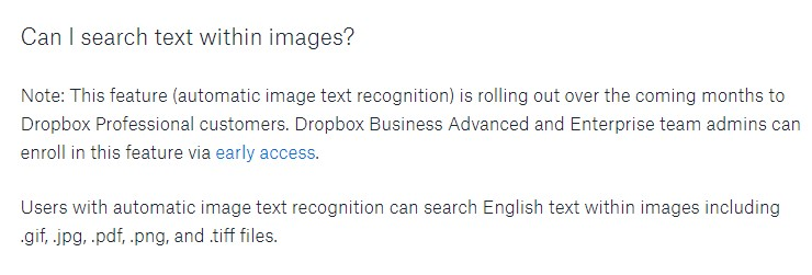 Dropbox Search Text In Pdf Picture File 4