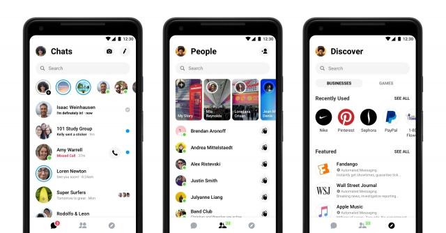 Facebook Messenger 4 Release New Update 1