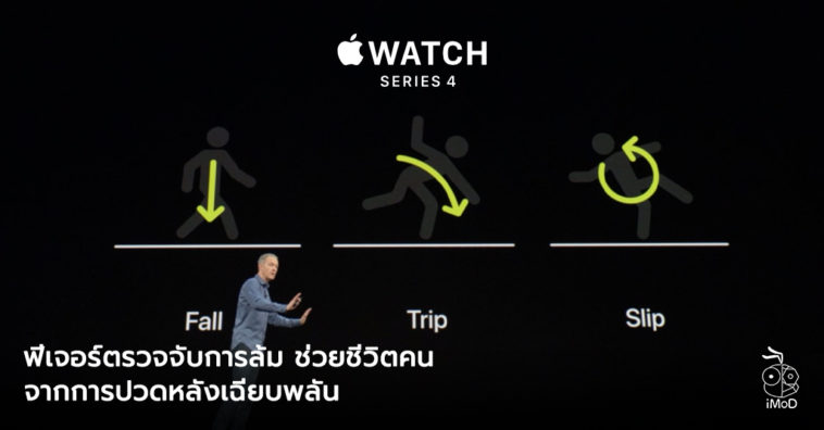 Fall Detection Apple Watch Series 4 Save Life