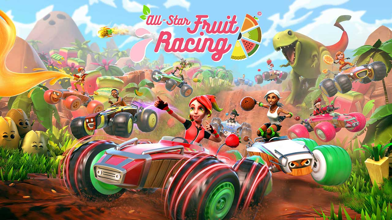 Game All Star Fruit Racing Vr Cover