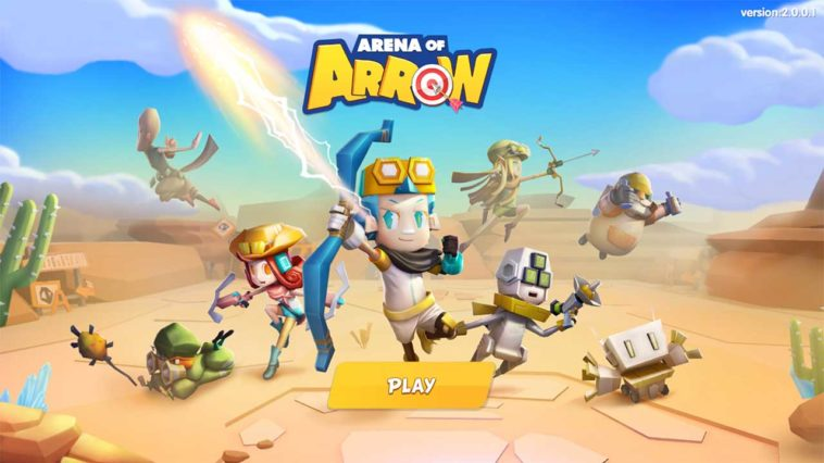Game Arena Of Arrow Cover