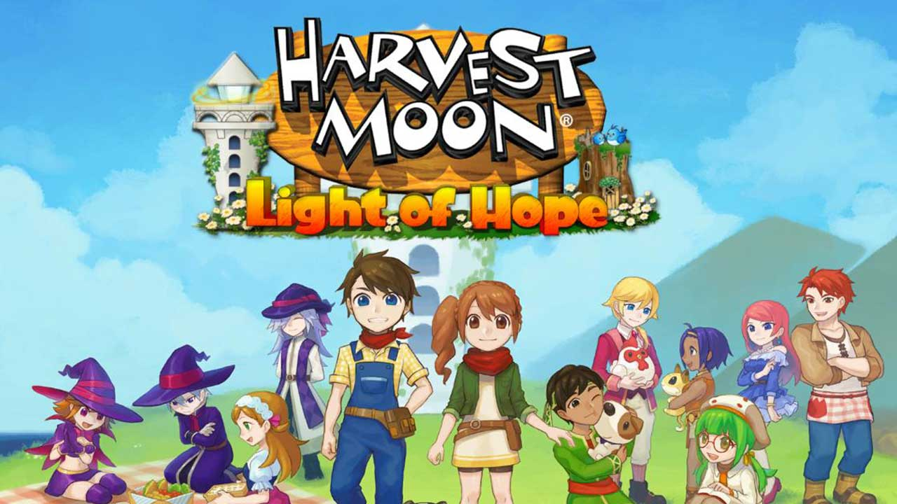 Game Harvest Moon Light Of Hope Cover