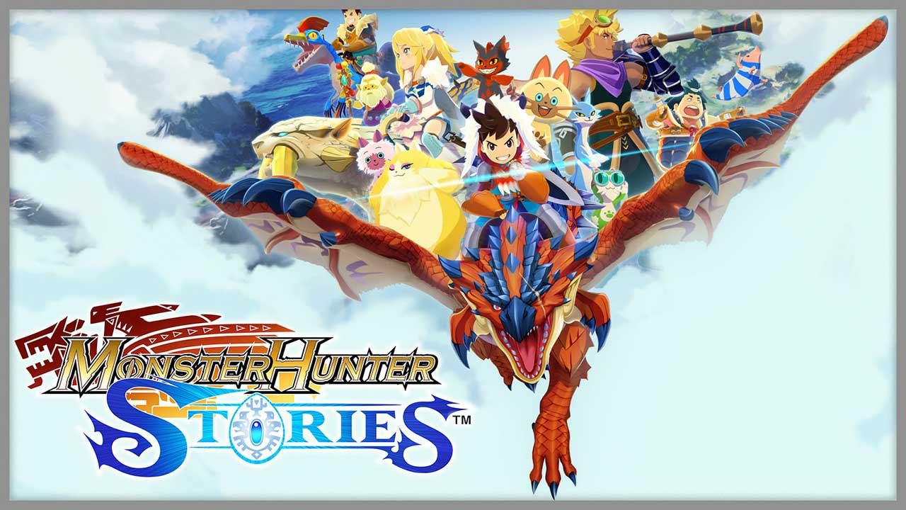 Game Monster Hunter Stories Cover