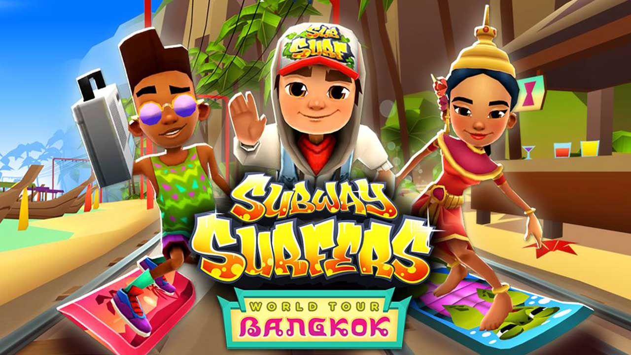 Game Subway Surfers Cover