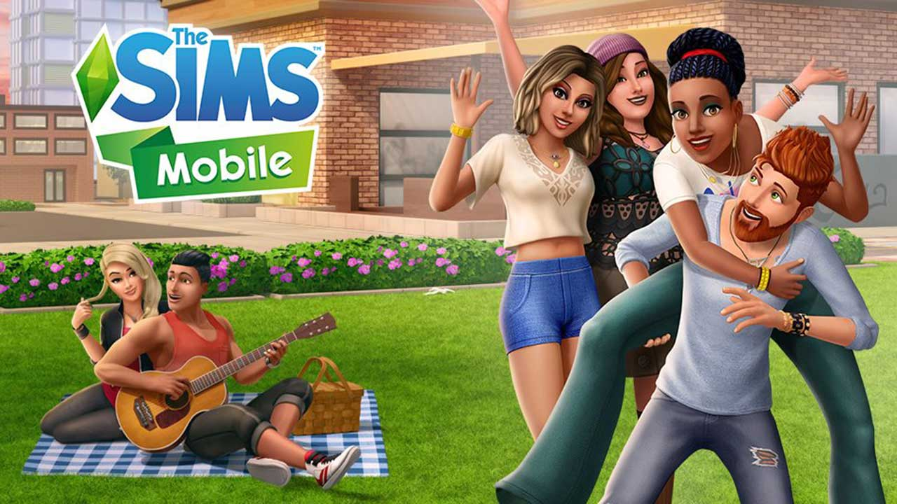 Game The Sims Mobile Cover